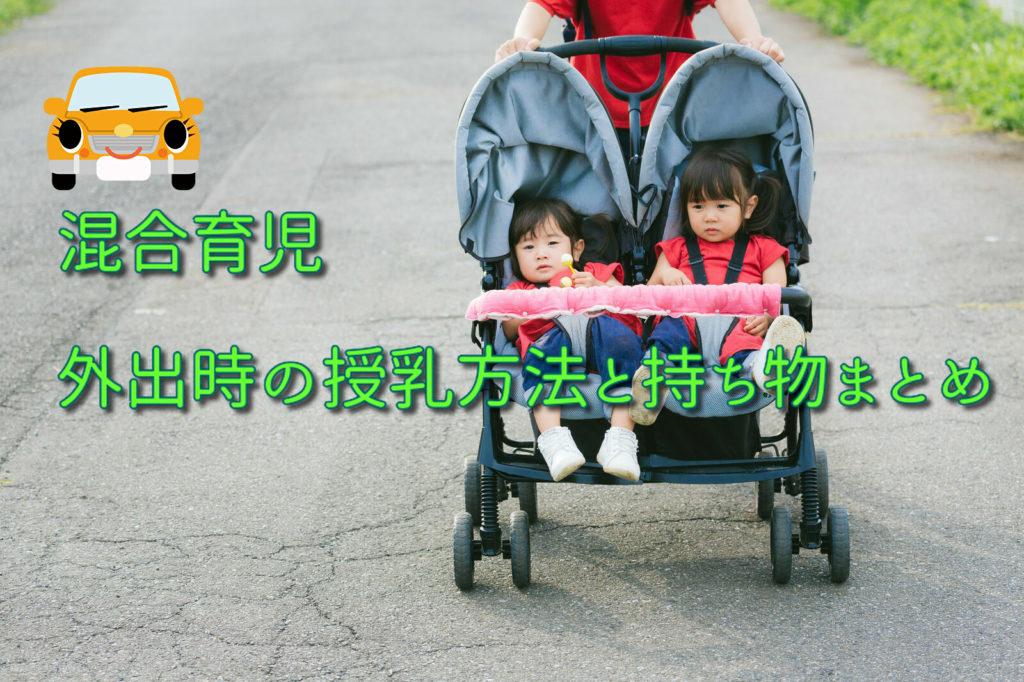 【体験談】混合育児の外出時(旅行時)の授乳方法と持ち物まとめ